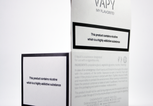 VAPY e-liquids display box details