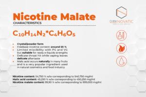 nicotine malate nicotine salt characteristics