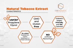 natural tobacco extract characteristics