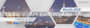 chemnovatic at vape expo poland banner