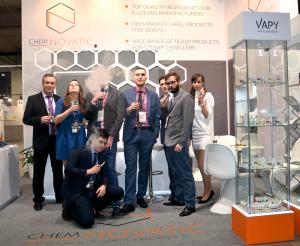 chemnovatic team at vape expo