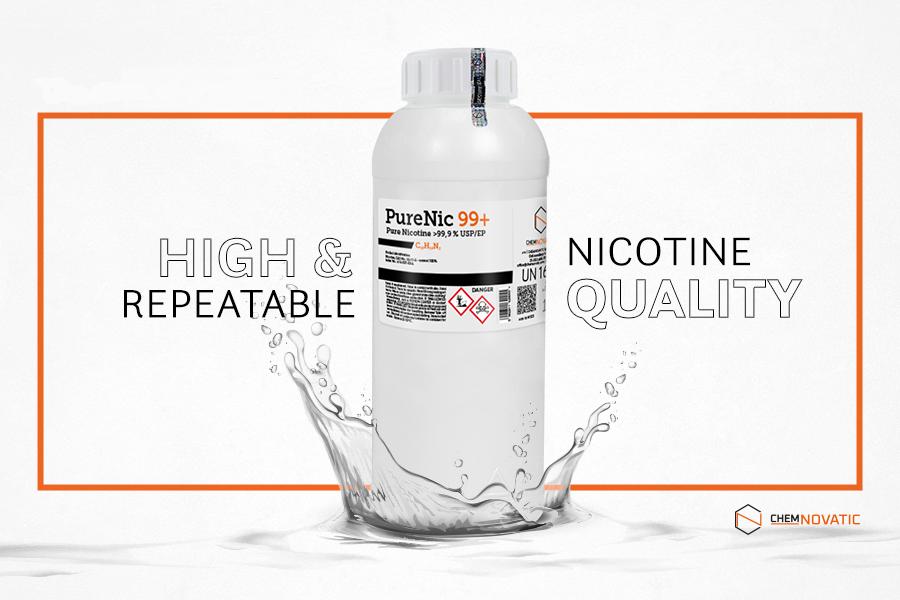 Pure nicotine PureNic 99+
