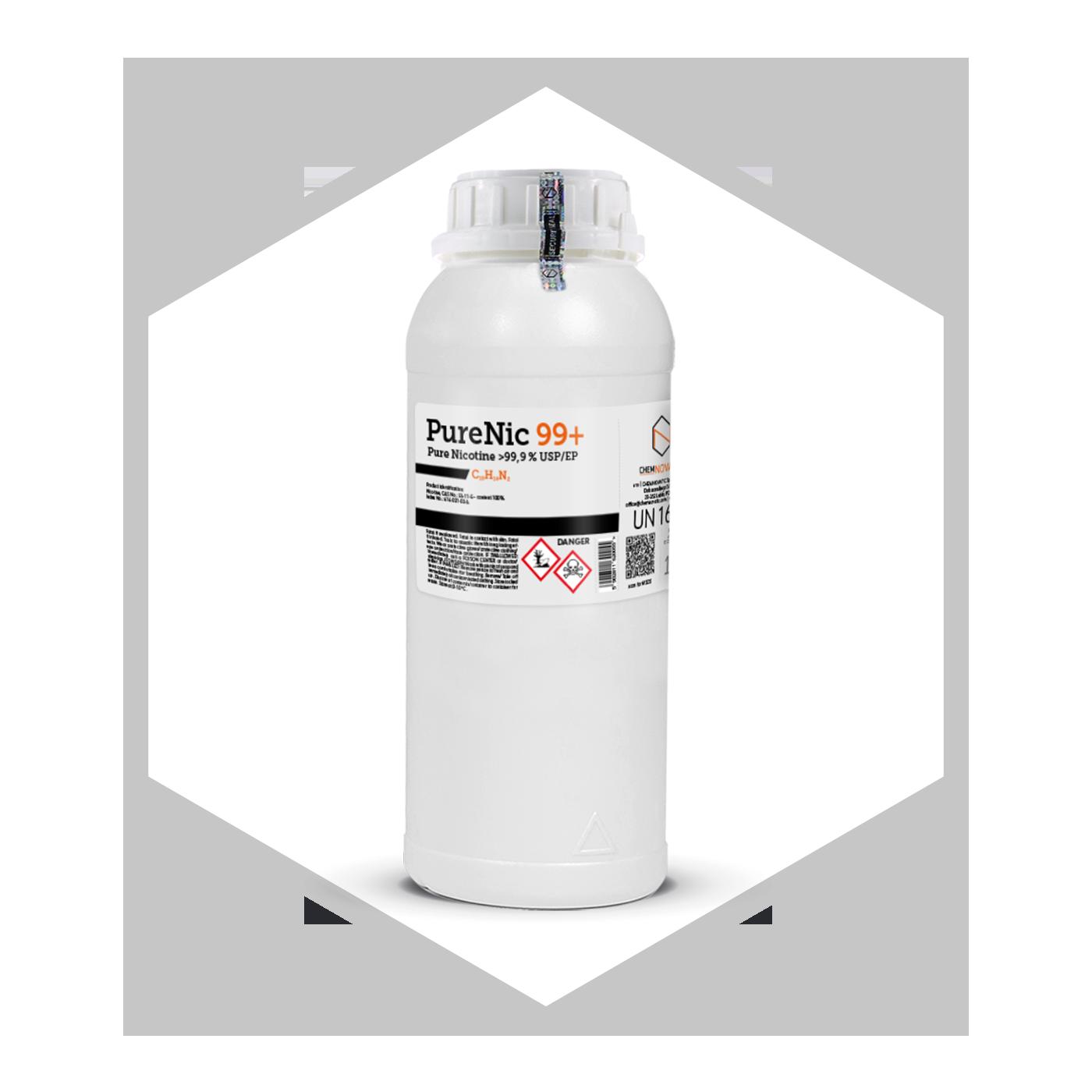 Pure Nicotine 99,9% (USP/EP): PureNic 99+