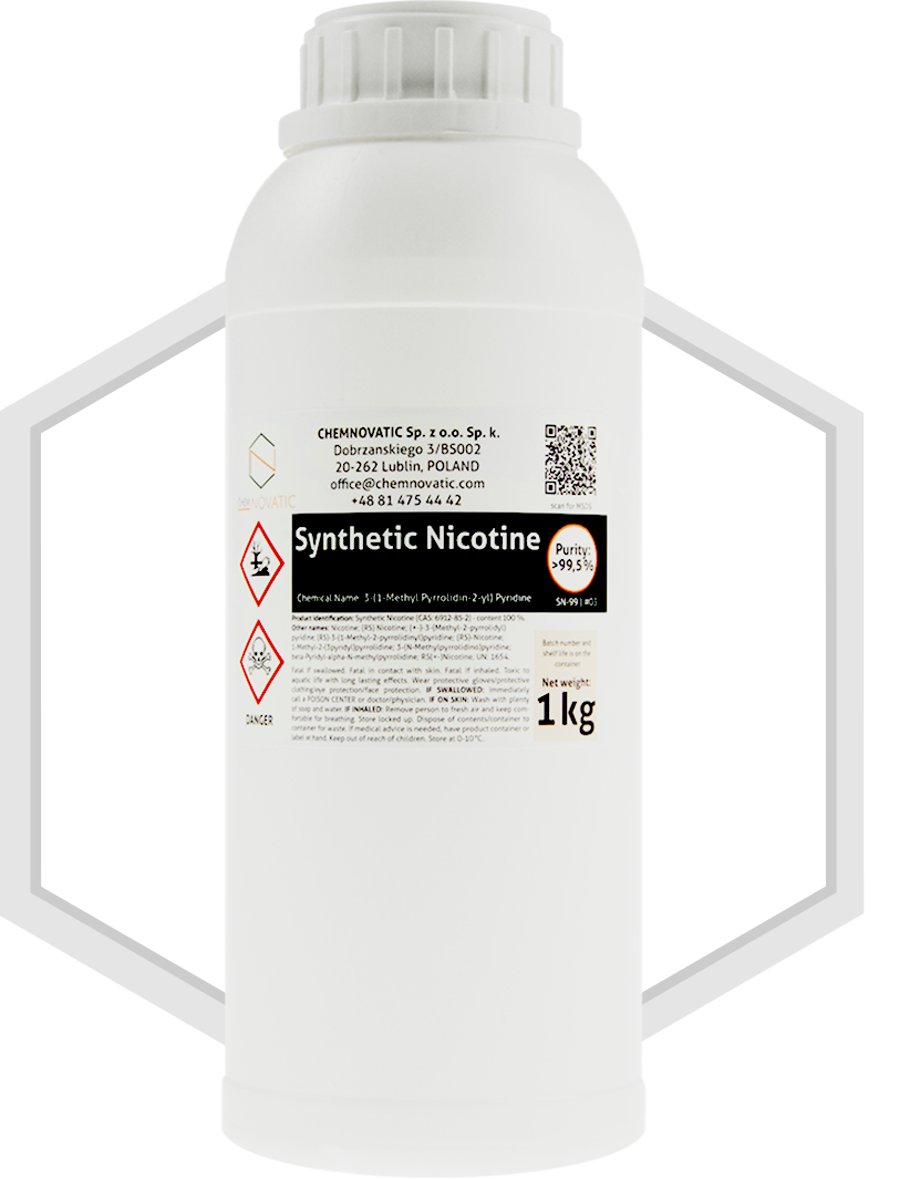 Synthetic Nicotine 99,5% USP/EP